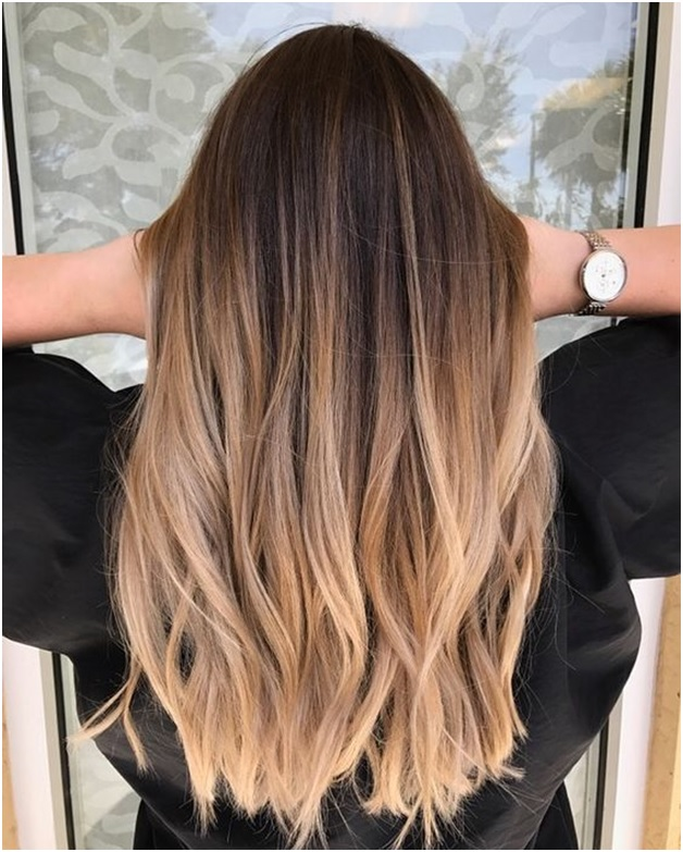 BALAYAGE for summer hair